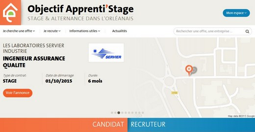 site apprenti'stage